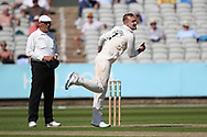 Lancashires Liam Livingstone  during the Specsavers County Champ Div 2 match between Lancashire County Cricket Club and Northamptonshire County Cricket Club at the Emirates, Old Trafford, Manchester, United Kingdom on 14 May 2019.