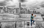 Hong Kong selfie.