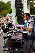 RJD2 at North Coast Music Festival in Chicago, IL on September 3, 2011