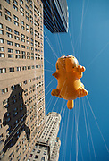 Garfield, Macy's Thanksgiving Day Parade, New York City, New York, USA, November 1984