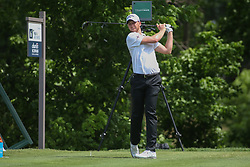 May 24, 2019 - Fort Worth, TX, U.S. - FORT WORTH, TX - MAY 24: Daniel Berger hits from the 6th tee during the second round of the Charles Schwab Challenge on May 24, 2019 at Colonial Country Club in Fort Worth, TX. (Photo by George Walker/Icon Sportswire) (Credit Image: © George Walker/Icon SMI via ZUMA Press)