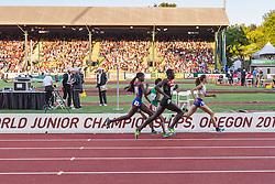 womens 800 meters, Hendriksdottir leads