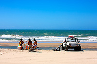buggy tour and lunch  and prainha beach near fortaleza in ceara state in brazil