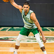 """Boston Celtics Forward Jayson Tatum poses for a photo shoot for Gatorade """"Beat the Heat"""" Campaign on June 27, 2019 at Auerbch Center in Boston, Mass."""