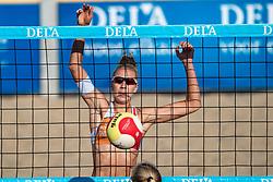 25-08-2019 NED: DELA NK Beach Volleyball, Scheveningen<br /> Last day NK Beachvolleyball / Pleun Ypma #1