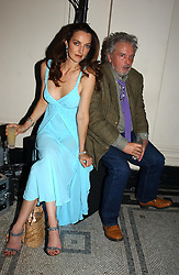 Photographer DAVID BAILEY and his wife CATHERINE at the 2004 British Fashion Awards held at Thhe V&A museum, London on 2nd November 2004.<br /><br />NON EXCLUSIVE - WORLD RIGHTS
