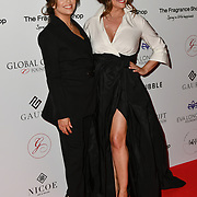Eva Longoria and Maria Bravo Arrivers at The Global Gift Gala red carpet - Eva Longoria hosts annual fundraiser in aid of Rays Of Sunshine, Eva Longoria Foundation and Global Gift Foundation on 2 November 2018 at The Rosewood Hotel, London, UK. Credit: Picture Capital