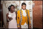 ANGELA LUNDEKESI; FEWA OTEDOLA, Florence Heoluwa 'Cuppy' Otedola Marie Antoinette Graduation party. Mandarin Oriental, Knightsbridge25th of July 2014.