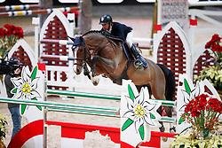 Arroyave Dayro, COL, Adele<br /> MEVISTO Amadeus Horse Indoor Salzburg<br /> © Hippo Foto - Stefan Lafrentz<br /> 11-12-2016