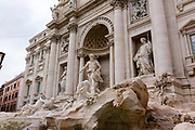Trevi Fountain. Images of Rome, Italy during the Christmas Holidays.