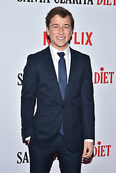 Skyler Gisondo attends Netflix's 'Santa Clarita Diet' Season 2 Premiere at The Dome at Arclights Hollywood on March 22, 2018 in Los Angeles, California. Photo by Lionel Hahn/AbacaPress.com