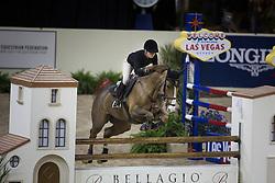 Alexander Edwina, (AUS), Fairlight van't Heike <br /> Training session<br /> Longines FEI World Cup™ Jumping Finals <br /> Las Vegas 2015<br />  © Hippo Foto - Dirk Caremans<br /> 15/04/15
