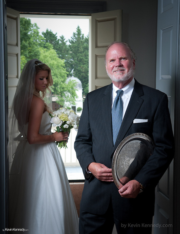 Ken Upton Portrait<br /> with Daughter Lauren posing for Exclusively Greater Annapolis Book