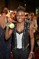 NICOLA ADAMS at the GQ Men of The Year Awards 2016 in association with Hugo Boss held at Tate Modern, London on 6th September 2016.