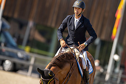Arroyave Dayro, COL, Cascol Z<br /> Belgian Championship 7 years old horses<br /> SenTower Park - Opglabbeek 2020<br /> © Hippo Foto - Dirk Caremans<br />  13/09/2020