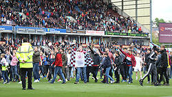 General view as Burnley fans invade the pitch at the final whistle - Mandatory by-line: Jack Phillips/JMP - 21/05/2017 - FOOTBALL - Turf Moor - Burnley, England - Burnley v West Ham United - Premier League