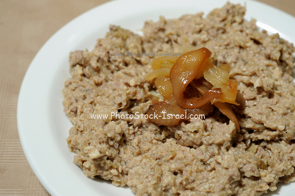 Chopped liver is a spread popular in Ashkenazi Jewish cuisine. made by sauteing or broiling liver and onions in schmaltz (chicken fat) and grinding. <br /> Chopped liver is a common menu item in Kosher delicatessens in Britain, Canada, and the U.S.A. The liver used is generally calves' liver, cow liver or chicken liver.