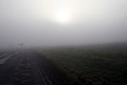 Mezirici/Tschechische Republik, CZE, 11.12.06: Süd-Böhmische Landschaft im Nebel in der Nähe des Dorfes Mezirici.<br /> <br /> Mezirici/Czech Republic, CZE, 11.12.06: South Bohemian landscape close to the village Mezirici in foggy weather.