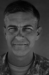 Colonel Steve Townsend, 46. Griffin, GA. Commander, 3rd Stryker Brigade 2nd Infantry Division. Taken at Camp Liberty, Baghdad on Friday May 25, 2007.