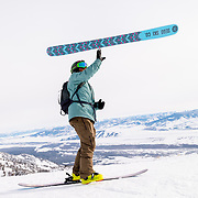 Max Martin ski flipping. Have a complete sequence from flip to catch.
