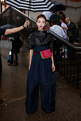 September 13, 2018 - New York, New York, United States - Celebrity/fashionista attends Marc Jacobs show at New York Fashion Week,  in New York City, US, on 12 September 2018. (Credit Image: © Oleg Chebotarev/NurPhoto/ZUMA Press)