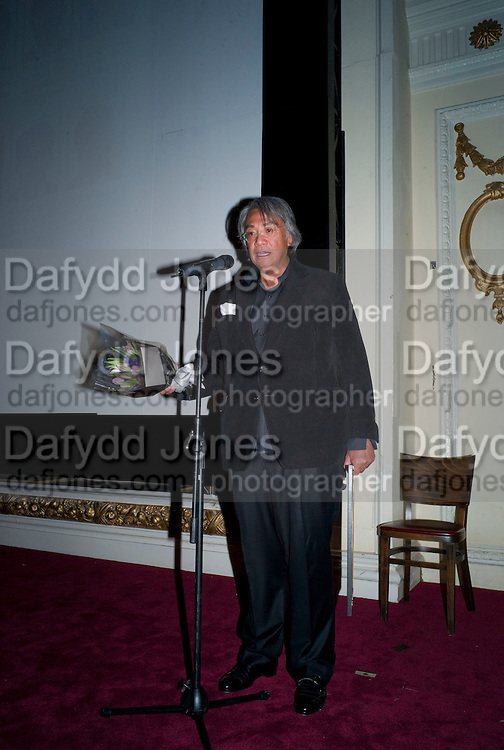 DAVID TANG, David Tang and Nick Broomfield host  a reception and screening of Ghosts. On the Fifth anniversary of the Morecambe Bay Tragedy to  benefit the Morecambe Bay Children's Fund. The Electric Cinema. Portobello Rd. London W11. 5 February 2009 *** Local Caption *** -DO NOT ARCHIVE -Copyright Photograph by Dafydd Jones. 248 Clapham Rd. London SW9 0PZ. Tel 0207 820 0771. www.dafjones.com<br /> DAVID TANG, David Tang and Nick Broomfield host  a reception and screening of Ghosts. On the Fifth anniversary of the Morecambe Bay Tragedy to  benefit the Morecambe Bay Children's Fund. The Electric Cinema. Portobello Rd. London W11. 5 February 2009