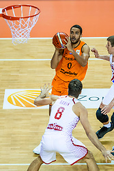 24-11-2017 NED: WC qualification Netherlands - Croatia, Almere<br /> First Round - Group D at the arena Topsportcentrum / Yannick Franke #0 of Netherlands