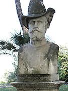 Italy, Rome, Gianicolo, Bust of Filippo Zamboni