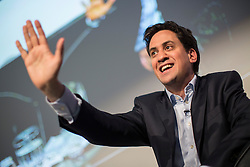 © licensed to London News Pictures. London, UK 11/05/2013. Ed Miliband delivering a speech at Labour Progress annual conference in London on Saturday, 11 May, 2013. Photo credit: Tolga Akmen/LNP