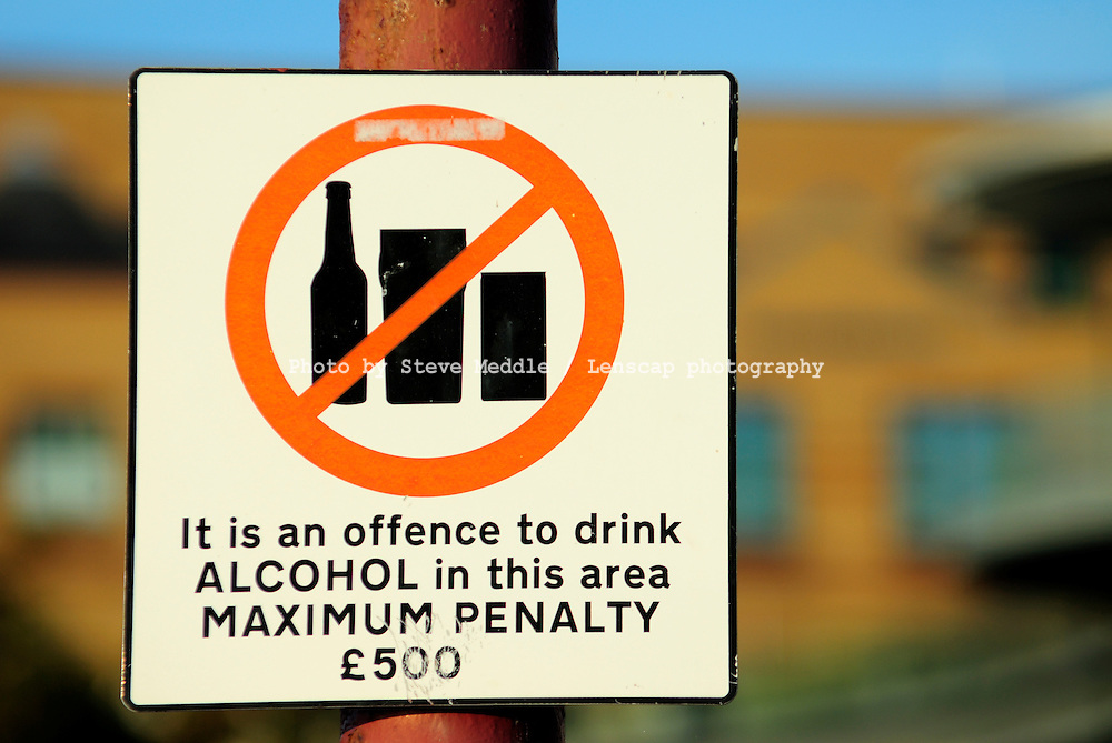 Warning Signs in Street for Alcohol - 2010