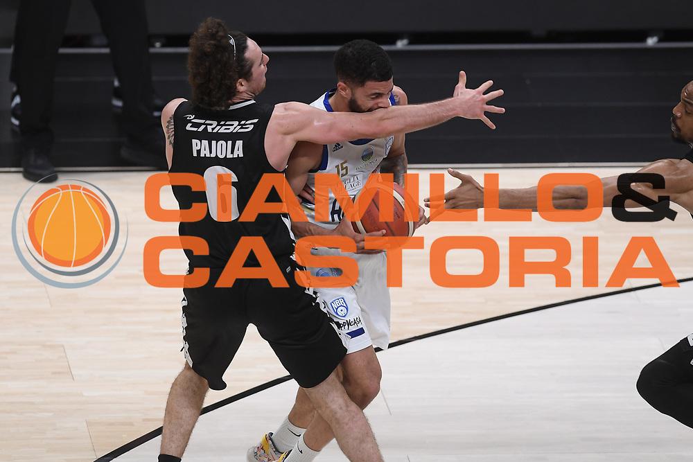 Thompson Darius<br /> Segafredo Virtus Bologna - Happy Casa Brindisi<br /> Semifinali - Gara 3<br /> Legabasket Serie A UnipolSAI 2020/2021<br /> Bologna, 02/06/2021<br /> Foto GiulioCiamillo / Ciamillo