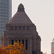 The Japanese Diet (Parliament) Building