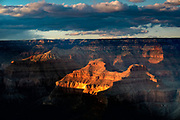 Landscape photographs from Pima Point, Grand Canyon NP
