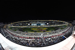 March 1, 2019 - Las Vegas, NV, U.S. - LAS VEGAS, NV - MARCH 01: The field crosses the start/finish line for the start of stage 2 during the NASCAR Gander Outdoors Truck Series Strat 200 on March 01, 2019, at Las Vegas Motor Speedway in Las Vegas, NV. (Photo by Chris Williams/Icon Sportswire) (Credit Image: © Chris Williams/Icon SMI via ZUMA Press)