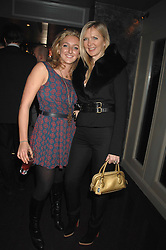 Left to right, NATASHA CORRETT and AMANDA WAKELEY at a party hosted by Kitts nightclub in honour of Ed Godrich to than him for his work on designing the club in Sloane Square, London on 1st March 2007.<br /><br />NON EXCLUSIVE - WORLD RIGHTS