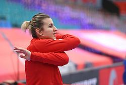 KOLDING, DENMARK - DECEMBER 5: Yuliya Dumanska during the EHF Euro 2020 Group D match between Poland and Romania in Sydbank Arena, Kolding, Denmark on December 5, 2020. Photo Credit: Allan Jensen/EVENTMEDIA.