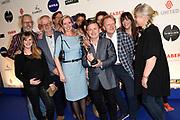 In de Passenger Terminal Amsterdam zijn vanavond de winnaars van de tvbeelden 2017 bekendgemaakt. De televisievakprijs werd voor de vijfde keer uitgereikt. De beste tv-makers van Nederland werden dit jaar in negentien categorieën geëerd.<br /> <br /> Op de foto:  Op de foto: o.a. Plien van Bennekom Beste jeugdprogramma - Welkom in de jaren 60