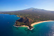 Pu'u Olai, Makena Beach, AKA Oneloa Beach and Big Beach, Maui, Hawaii