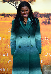 June Sarpong attending the global premiere of Netflix's Our Planet, held at the Natural History Museum, London.