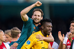 15-05-2019 NED: De Graafschap - Ajax, Doetinchem<br /> Round 34 / It wasn't really exciting anymore, but after the match against De Graafschap (1-4) it is official: Ajax is champion of the Netherlands / Daley Blind #17 of Ajax, Andre Onana #24 of Ajax