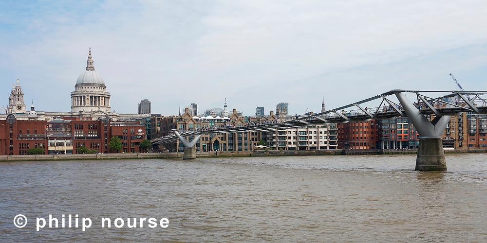 Millennium Bridge, City of London