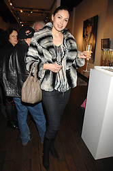 KATRINA PRUDNIKOVA at a private view of paintings by Lita Cabellut and Russian artist Yuri Kuper at Opera Gallery, 134 New Bond Street, London on 2nd April 2008.<br /><br />NON EXCLUSIVE - WORLD RIGHTS