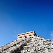 El Castillo (also known as Temple of Kuklcan) at the ancient Mayan ruins at Chichen Itza, Yucatan, Mexico 081216103554_4555.NEF