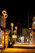 Canoa Quebrada_CE, Brasil...Canoa Quebrada, no Ceara. Detalhe para a Broadway, agito noturno da cidade...Canoa Quebrada, Ceara. In this photo Broadway...Foto: BRUNO MAGALHAES / NITRO