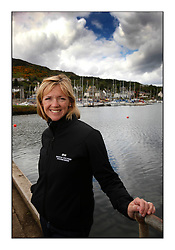 Brewin Dolphin Scottish Series 2010, Tarbert Loch Fyne - Yachting..Day one stated late but resulted in good conditions on Loch Fyne..Shirley Robertson...
