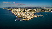 Aerial Photography of the Coastline of Acre, Israel