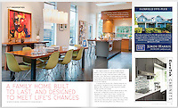 Contemporary in Cadboro Bay: this new build was photographed for Boulevard magazine.