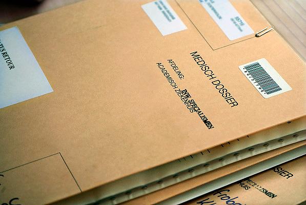 Nederland, Nijmegen, 22-5-2008Patiënten krijgen meer gelegenheid hun medisch dossier in te zien.Foto: Flip Franssen