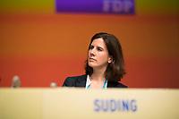 DEU, Deutschland, Germany, Berlin,12.05.2018: FDP-Parteivize Katja Suding beim 69. Bundesparteitag der Freien Demokratischen Partei (FDP) in der Station.