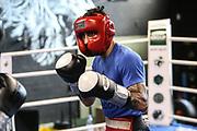 Boxen: Universum Boxpromotion, Training, Hamburg, 16.04.2021<br /> Artem Harutyunyan (GER)<br /> © Torsten Helmke